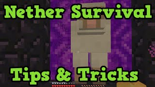 Download Minecraft Xbox - How To Survive The Nether EASILY Video
