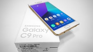 Download Samsung Galaxy C9 Pro (6GB RAM | Snapdragon 653 | 16MP) - Unboxing & Hands On! Video