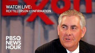 Download WATCH LIVE: Rex Tillerson confirmation hearing Video