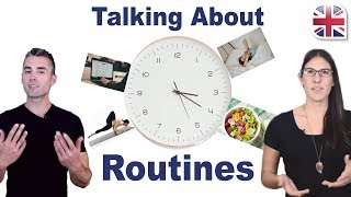 Download Talk About Your Daily Routine in English - Spoken English Lesson Video