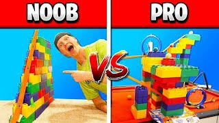 Download NOOB vs PRO HOT WHEELS RACE TRACK CHALLENGE! Video