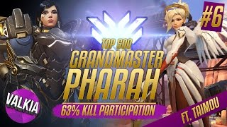 Download Top 500 Pharah w/ Taimou (Now a born again Mercy main) Highlight #6 || Valkia Video