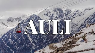 Download Auli Ropeway Review (with price) | Difference between Auli Ropeway and Ski chair Lift | Video