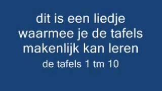 Download tafel lied / tafelliedje tafels 1 t/m 10 Video