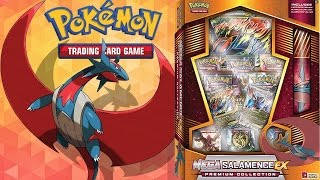 Download AMAZING NEW - MEGA SALAMENCE EX PREMIUM COLLECTION BOX OPENING - POKEMON UNWRAPPED Video