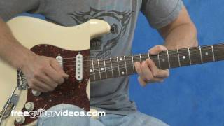 Download Am Pentatonic Blues Guitar Licks Video