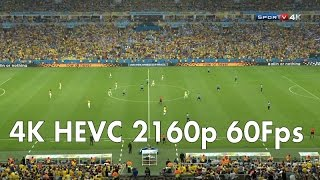 Download 4K HEVC H.265 2160p 60Fps TV Fifa World Cup 2014 Video