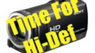 Download Sony HDR-CX100 HD Camcorder Unboxing Video