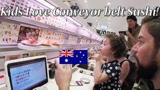 Download 【回転寿司 魚べい】オーストラリア人家族が回転寿司を初体験 / Kids Love Conveyor-belt Sushi Video