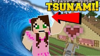 Download Minecraft: TSUNAMIS!!! (DISASTERS THAT DESTROY THE WORLD!) Mod Showcase Video