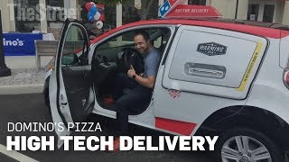 Download Behind The Wheel Of Domino's Pizza New High Tech Delivery Car Video