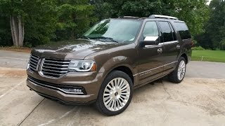 Download 2015 Lincoln Navigator Review - Old School, Yet Still In The Fight Video