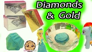 Download Surprise Dig It Digging Diamonds & Gold Bars In Water with My Little Pony - Cookie Swirl C Video Video