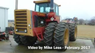 Download A few old Versatile Tractors in Berne Indiana Video