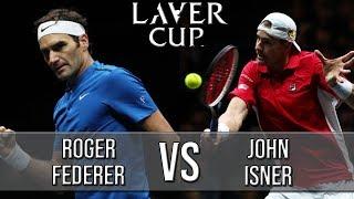 Download Roger Federer Vs John Isner - Laver Cup 2018 (Highlights HD) Video