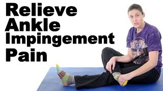 Download Ankle Impingement Stretches & Exercises for Pain Relief - Ask Doctor Jo Video