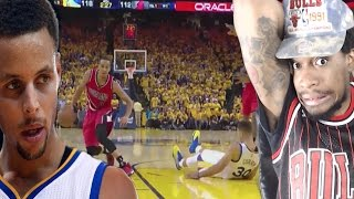 Download MCCOLLUM DROPS 40 ON CURRY'S NECK!!! WARRIORS vs TRAIL BLAZERS GAME 1 HIGHLIGHTS REACTION! Video