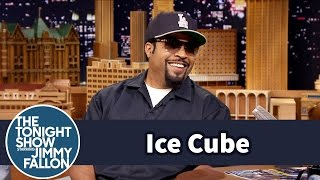 Download Ice Cube Made His Son Work Hard for a Straight Outta Compton Role Video