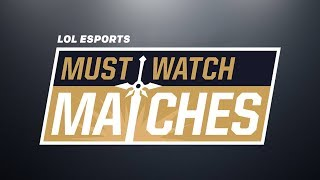Download Must Watch Matches Spring 2018 Episode 2: 100 vs. FOX | VIT vs. G2 | SS vs. RW Video