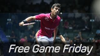 Download Squash: Free Game Friday - Saurav Ghosal v Peter Creed - Windy City Open 2014 Video