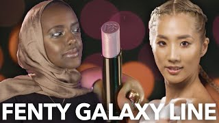 Download Rihanna's New Galaxy Look On 12 Different Skin Tones Video