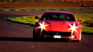 Download Ferrari F12 vs. Aston Martin Vanquish: Noise And Lap Times - Fifth Gear Video