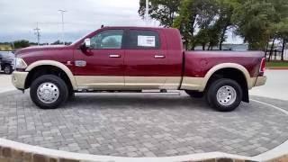 Download All new 2017 Ram 3500 Laramie Longhorn Mega Cab 4X4 Delmonico Red TDY Sales Granbury DFW Dealer Video