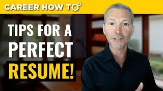 Download Resume Tips 2018: 3 Steps to a Perfect Resume Video