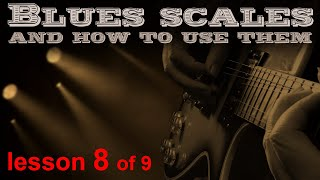 Download The 5 positions of A minor blues scales brought together. Video