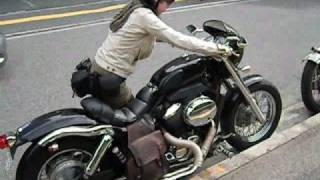 Download HONDA Shadow400 シャドウ 400 Custom Video