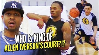 Download Allen Iverson Holds 1 on 1 KING OF THE COURT with Jelly Fam JQ, Kevin Porter, Aaron Wiggins & More!! Video