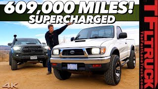 Download Bulletproof-This Supercharged 1997 Toyota Tacoma with 300 HP has over 600,000 Miles! Video