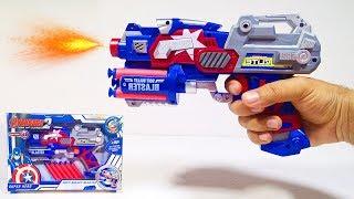 Download العاب اطفال لعبة مسدس كابتن امريكا اللي معاه طلقات كتير Video