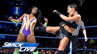 Download Naomi vs. Sonya Deville - Money in the Bank Qualifying Match: SmackDown LIVE, May 22, 2018 Video