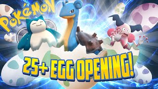 Download POKEMON GO - INSANE 25+ EGG OPENING (2K, 5K, 10K EGGS) Video