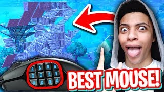 Download THIS MOUSE MAKES YOU BUILD FASTER THAN MYTH! (BEST MOUSE FOR FORTNITE) Video