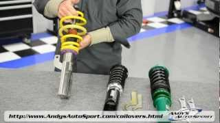 Download Lowering Springs vs Coilovers - Presented by Andy's Auto Sport Video