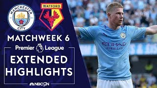 Download Manchester City v. Watford | PREMIER LEAGUE HIGHLIGHTS | 9/21/19 | NBC Sports Video