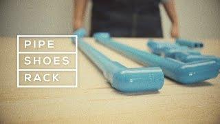 Download Pipe Shoes Rack ชั้นวางรองเท้าจากท่อ PVC Video
