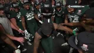 Download MSU Football Rose Bowl Post Game Locker Room Celebration Video