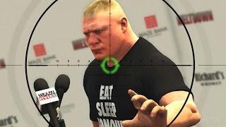 Download GTA 5 WWE Mods - BROCK LESNARS HEROIC ESCAPE! (Grand Theft Auto V Mods) Video