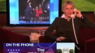 Download Ellen Calls Obama On Presidents Day February 16 2009 Video