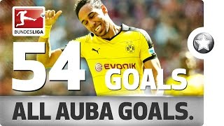 Download Pierre-Emerick Aubameyang - All His Goals for Borussia Dortmund Video