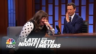 Download Aidy Bryant's Drake Moment - Late Night with Seth Meyers Video
