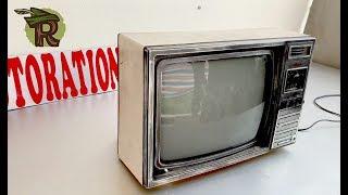 Download Restoration SAMSUNG TVs produced in 1985   Antique television restore   Upgrade AV port for TV Video