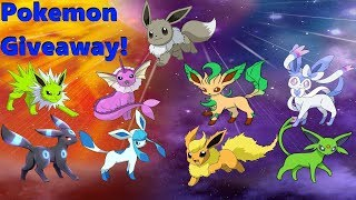 Download 🔴Live!Shiny Eeveelutions Pick Any Pokemon You Want! Pokemon! Giveaway! Part 1! (Check Out My List!) Video