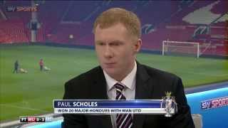 Download Paul Scholes has his say on David Moyes Video