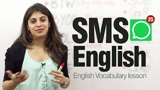 Download SMS English ( Lesson) - Modern English abbreviations and Shortened text messages Video