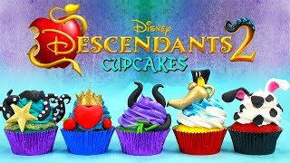 Download DESCENDANTS 2 CUPCAKES (UMA,EVIE,MAL,JAY AND CARLOS) Video