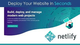 Download Deploy Websites In Seconds With Netlify Video
